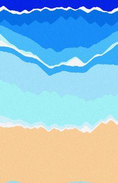 'Sea/Ocean' by Kkaebsonghannie #thisissand