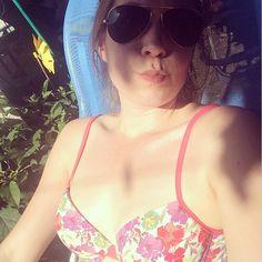 @karlaengbarth wearing #floral #bikini! #beach #summer #swimwear #custom #fashion  www.surania.com