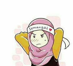 Easy Disney Drawings, Easy Drawings, Pencil Drawings, Drawing Cartoon Faces, Hijab Drawing, Islamic Cartoon, Anime Muslim, Hijab Cartoon, Islamic Girl