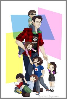 Mark and the Grumps kids