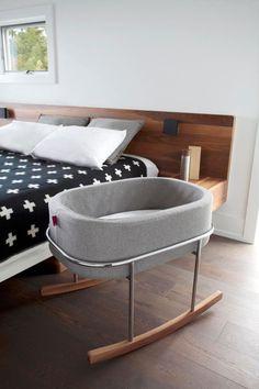 Bebek Odası  Rockwell Bassinet for Monte Design, Ralph Montemurro tarafından   Bebek Odası Tasarımları | Bebek Odası