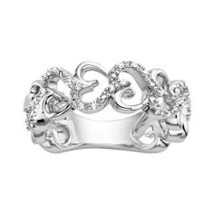 Fred Meyer Jewelers | 1/10 ct. tw. Diamond Perfect Heart Ring $149