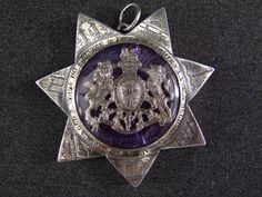 Rare Irish Orange Sash jewel dating approx c1800 Reign of King George III, £1,200