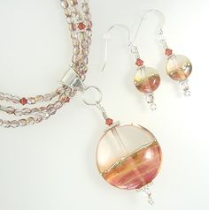 Handcrafted beads and jewelry in Cheyenne from A Leigh Designs.