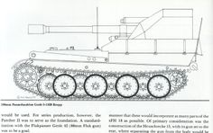 Geschutzwagen Panther Technical Drawing