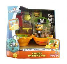 Octonauts 'Kwazii'S On The Go Pod' Toy in Toys & Games | eBay