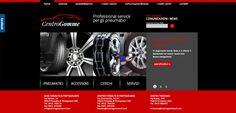 Nuovo progetto web firmato Studio Idee Materia: www.centrogommesrl.com