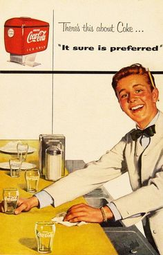 By request… There's this about Coke… Coca Cola ad detail ads commercial Coca Cola Ad, World Of Coca Cola, Pepsi, Vintage Diner, Vintage Ads, Vintage Posters, Retro Ads, Funny Commercials, Funny Ads