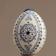 Decorated eggs imported from the Czech Republic. Egg Decorating, Traditional Design, Czech Republic, Onion, Christmas Bulbs, Eggs, Holiday Decor, Handmade, Gifts