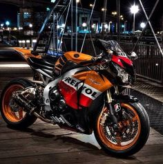I think the Repsol CBR1000rr is the best paint scheme! It's not for everyone! But, when it's time, I'm riding Repsol!
