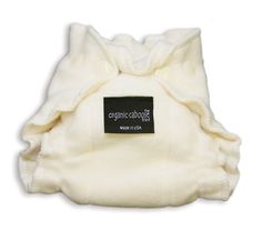 Organic Caboose diapers are 100% organic, 100% comfort. These quick drying diapers are made with super soft organic cotton fleece. Easy to wash, easy to use. Size: Newborn 5-12 lbs This is a fitted diaper so it does need a cover to keep your baby's clothes dry.