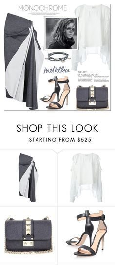"""Make It Monochrome"" by mada-malureanu ❤ liked on Polyvore featuring Maticevski, Faith Connexion, Valentino, Gianvito Rossi, Marjana von Berlepsch, monochrome and polyvoreeditorial"