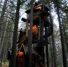 tree houses!!