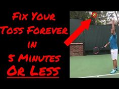 Fix Your Tennis Serve Toss in 5 Minutes or Less Wedding Art, Wedding Humor, Nadal Tennis, Tennis Online, Tennis Serve, Tennis Lessons, Tennis Equipment, Tennis Quotes, Manny Pacquiao