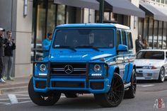 Matte blue G63 AMG!