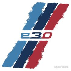 BMW E30 M stripe