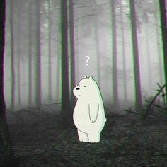 yea we're both lost, boi Funny Iphone Wallpaper, Sad Wallpaper, Couple Wallpaper, Cute Wallpaper Backgrounds, Cute Cartoon Wallpapers, Ice Bear We Bare Bears, We Bear, Bear Tumblr, We Bare Bears Wallpapers