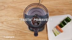 Our pasta primavera recipe is packed with veggies and makes a satisfying meal! Try making this healthy and easy dish with our Stainless Steel Food Processor! Food Processor Uses, Food Processor Recipes, Entree Recipes, Healthy Recipes, Pasta Primavera, Cooking Gadgets, Food Videos, Entrees, Easy Meals