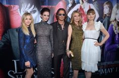 Can't wait to see this movie.  My friends and I would rush home from school to watch the soap.  Chloe Moretz, Eva Green, Johnny Depp, Michelle Pfeiffer & Bella Heathcote - Dark Shadows LA premiere, May 7th 2012