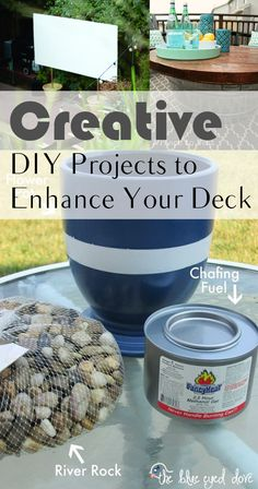 Creative DIY Projects to Enhance Your Deck