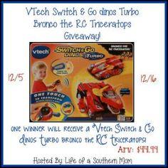Vtech Switch & GoDinos Turbo Giveaway