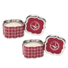 Votivo Quartrefoil Tin - Red Currant 2 pack ** Startling review available here  : Travel Perfume and fragrance