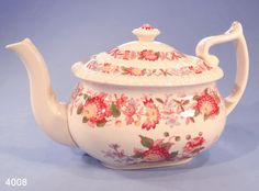 "Copeland Spode ""Spode's Aster"" Vintage Teapot  Lovely 2 pint capacity Tea Pot from Copeland Spode in their Spode's Aster pattern."