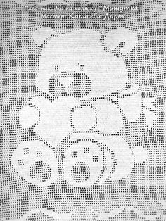 This Pin Was Discovered By Bon - Diy Crafts - Marecipe Filet Crochet Charts, Crochet Stitches Patterns, Knitting Charts, Crochet Designs, Baby Patterns, Baby Knitting, Cross Stitch Patterns, Baby Blanket Crochet, Crochet Baby