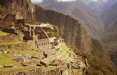 Machu Picchu, built around 1450 in Peru. Symbol of the Inca Empire.