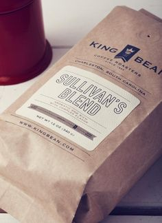King Bean Coffee Roasters Packaging by Design Agency Stitch