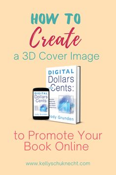 A 3D image makes your book cover stand out on the screen. It also helps show potential readers various options that are available.