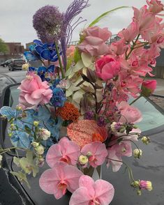 Image may contain: flower, plant, outdoor and nature Flora Flowers, Flowers Nature, Pretty Flowers, Large Flower Arrangements, Little Gardens, Plants Are Friends, Flower Shower, Flower Aesthetic, My Flower