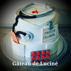 Nurse cake - cake by Gâteau de Luciné