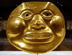 Colombia (Calima) century B. Hammered Gold gold, silver) Metropolitan Museum of Art NYC Beyond The Mask, Colombian Art, Mesoamerican, Ancient Jewelry, Ancient Artifacts, Ancient History, Archaeology, South America, Sculptures