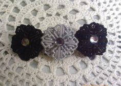 I just listed Black And Gray Flower Barrette on The CraftStar @TheCraftStar #uniquegifts