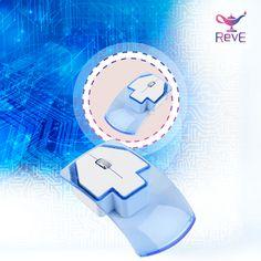 Precioso mouse inalámbrico de varios colores.   Solo de venta en: https://www.facebook.com/revemex/ www.reve.mx