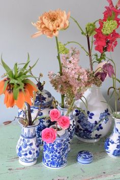 Flower Monday (part - Happy Handmade living - Flower Monday (part – Happy Handmade living - Handmade Flowers, Handmade Crafts, Flower Power, 21st Decorations, Pottery Painting Designs, Blooming Plants, Easy Woodworking Projects, Spring Garden, Plant Decor