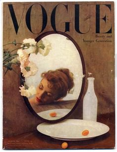 Original vintage British Vogue August 1947 Beauty and Younger Generation — Magazines Brown Aesthetic, Aesthetic Collage, Aesthetic Vintage, Vogue Magazine Covers, Fashion Magazine Cover, Mode Collage, Foto Fantasy, Vintage Vogue Covers, Mode Poster