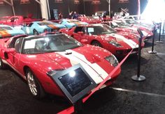 For You Ford GT Fans! Barrett Jackson Auction, Ford Gt, Corvette, Dodge, Mustang, Fans, Trucks, Corvettes, Mustangs