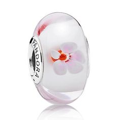 Pandora Pink Cherry Blossom Murano Ch... for only $32.87