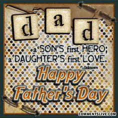Super cute DAD quote!