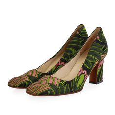 These gorgeous Prada Multicolor Pumps are a welcome and versatile addition to any wardrobe.  ITEM CONDITION: Pre-owned –  Good condition.  SUPPLIED WITH: These shoes are supplied with a Luxity dust bags.  SIZE: 40 – (UK size 6.5)  THE LEFT SHOE: Good condition – The soles show signs of wear.  THE RIGHT SHOE: Good condition – The soles show signs of wear. Block Sandals, Prada Shoes, Shoe Closet, Pumps, Heels, Your Shoes, How To Introduce Yourself, Most Beautiful Pictures, Flats
