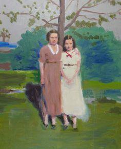 "Saatchi Online Artist: David Storey; Oil, Painting ""'The Grandmother'"""