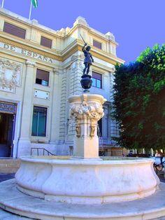 Sevilla - Fuente de Mercurio - Plaza de San Francisco.