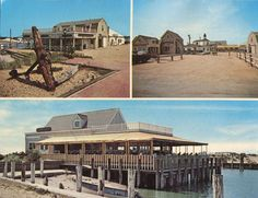 GOSMAN'S DOCK RESTAURANT, West Lake Drive, Montauk, Long Island, NY~ Unused/1972