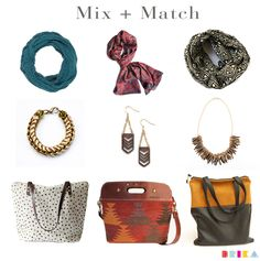 Mix and match accessories