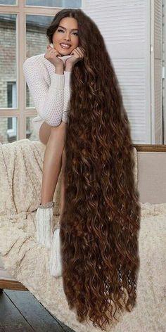 Haaren den frau mit längsten Nicht jeder