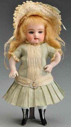 """Kestner J. D. Dolls All bisque doll so-called """"Wrestler"""" ,"""