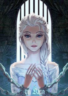 Frozen.Disney. Disney Princess. Fan art. Fanart. Creative. Beautiful. Fashion. Disney Character.