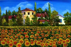"""Nothing says """"summer"""" like a field of sunflowers, and one of the most romantic places to see them is in Tuscany. Description from infotainmentpk.net. I searched for this on bing.com/images"""